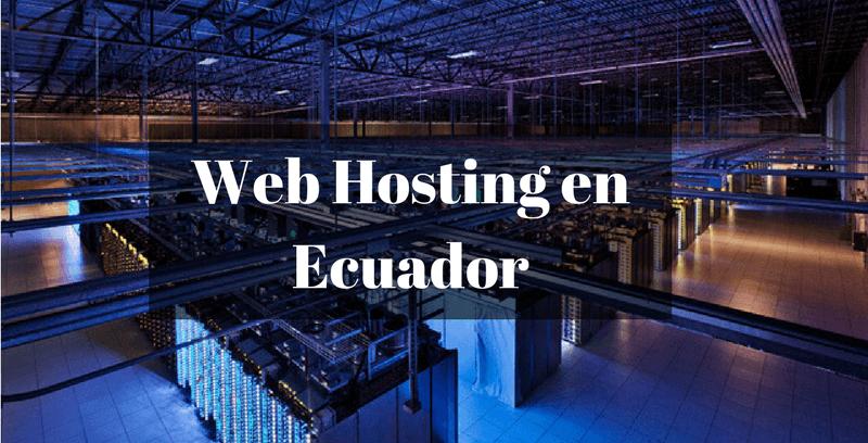 servicio de hosting en ecuador